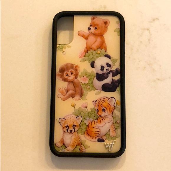 Safari Babies iPhone X/XS Wildflower case